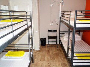 Hostel in Ulan-Ude. Four bed dorm